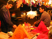 Compras rituales Foto de archivo libre de regalías