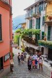 Compras turísticas en Bellagio Foto de archivo