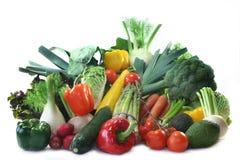 Compras vegetales Fotografía de archivo