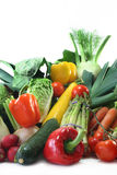 Compras vegetales Fotografía de archivo libre de regalías