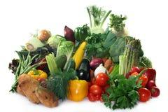 Compras vegetales Imagenes de archivo