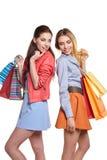 Compras, venta y concepto de los regalos Imagen de archivo