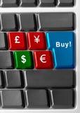 Compre dólares! Foto de Stock Royalty Free
