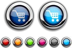 Compre el botón. Imagenes de archivo