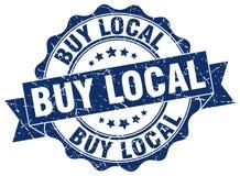 Compre el sello local ilustración del vector