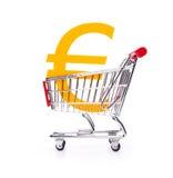 Compre a euro- moeda Fotografia de Stock Royalty Free