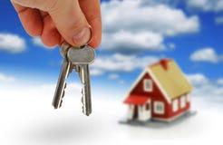 Compre las propiedades inmobiliarias. Imagen de archivo libre de regalías