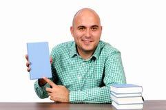 Compre meu livro isolado Fotografia de Stock