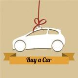 Compre um carro Foto de Stock Royalty Free