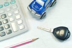Compre um carro Fotografia de Stock Royalty Free
