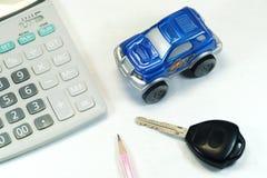 Compre um carro Imagem de Stock Royalty Free