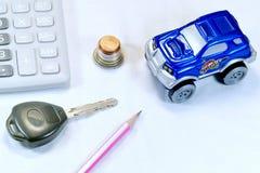 Compre um carro Imagens de Stock Royalty Free