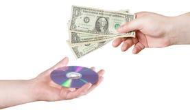 Compre un CD imagen de archivo libre de regalías