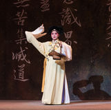 """Compre vegetais ato-Kunqu Opera""""Madame da cesta- segunda o  branco de Snake†Foto de Stock Royalty Free"""