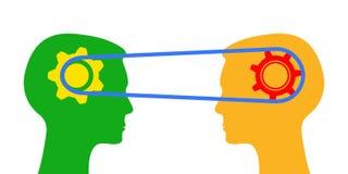 Comprenant, l'information d'échange - vecteur illustration de vecteur