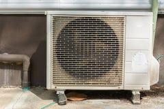 Compresor de aire viejo Fotografía de archivo libre de regalías