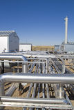 Compresor de gas natural activo Fotos de archivo libres de regalías