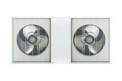 Compresor de la condición del aire Imagenes de archivo