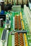 Compresor de la tarjeta de circuitos Imagenes de archivo