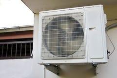 Compresor del acondicionador de aire fotografía de archivo libre de regalías