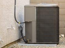 Compresor del acondicionador de aire Foto de archivo libre de regalías