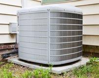 Compresor del acondicionador de aire Imagen de archivo libre de regalías