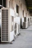Compresor del acondicionador de aire imagenes de archivo
