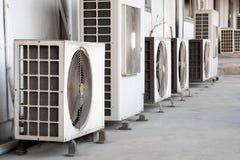 Compresor del acondicionador de aire fotos de archivo libres de regalías