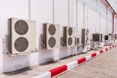 Compresor del aire acondicionado Fotografía de archivo libre de regalías