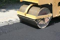 Compresor del asfalto Imagen de archivo