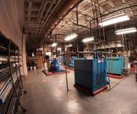 Compresores y secadores del aire Foto de archivo libre de regalías