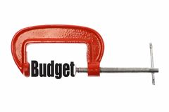 Compress budget Royalty Free Stock Photo