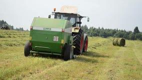 Compress equipment field stock video footage