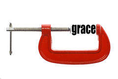 Compress grace Royalty Free Stock Photography