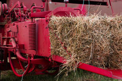 Compress Hay Bale Royalty Free Stock Image