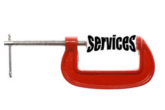 Compress services Royalty Free Stock Photos