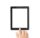 Compressa del touch screen Fotografie Stock Libere da Diritti