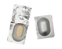 Compressa della medicina Fotografia Stock