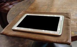Compressa dello schermo dello schermo in bianco Immagini Stock