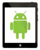 Compressa di Android fotografie stock libere da diritti