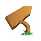 Compressa di legno Fotografie Stock
