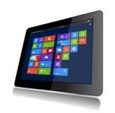 Compressa di Windows 8 Fotografia Stock