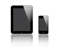Compressa e Smart Phone di Digital Fotografia Stock Libera da Diritti