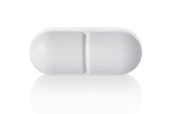 Compressa medica della pillola Fotografie Stock Libere da Diritti
