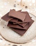 Compresse del cioccolato fondente Immagine Stock Libera da Diritti