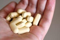 Compresse di vitamine Immagini Stock