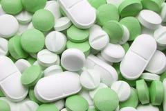 Compresse e medicine Fotografia Stock Libera da Diritti