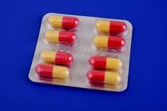 Compresse medicinali Immagine Stock Libera da Diritti