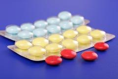 Compresse medicinali Fotografia Stock Libera da Diritti