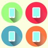 Compresse & Smartphones Fotografia Stock